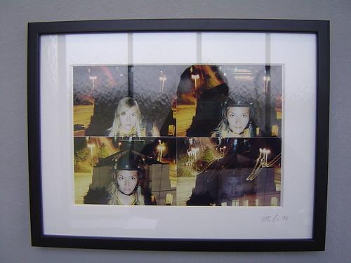 Fotoautomat Ausstellung bei Hafen 2. September 2004