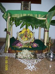 Varalakshmi Vratham - Devi Alayam Adorned