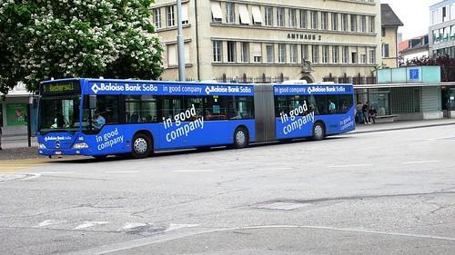 Bus, Amthausplatz, Solothurn
