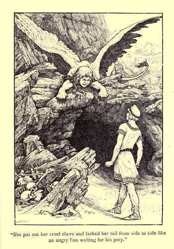 028-El acertijo de la esfinge-Los niños del Alba 1908- Frank Pape Cheyne