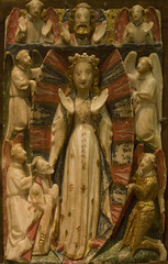 Assumption alabaster (Lawrence OP) Tags: english cathedral mary catedral medieval assumption vila alabaster blessedvirgin