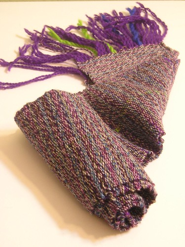 First Cricket handwoven scarf
