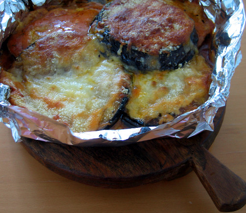 dinner - eggplant parm