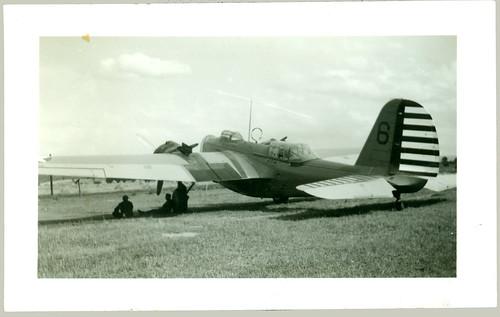 Twin engine bomber