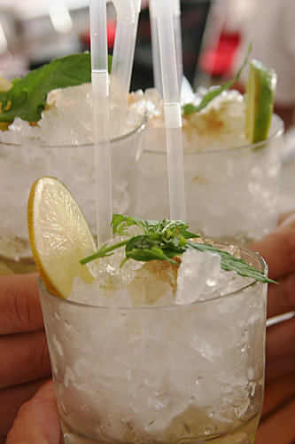Mojitos in Summer light