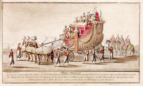 007- Celebre mascherata fatta nella splendidissima citta di Napoli in campagna felice nel carnovale dellanno 1778