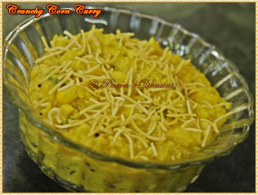 Crunchy Corn Curry