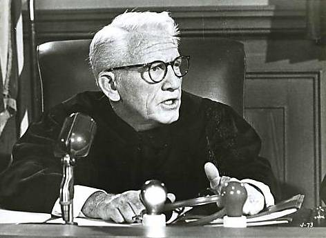 Spencer Tracy in Judgment at Nuremberg