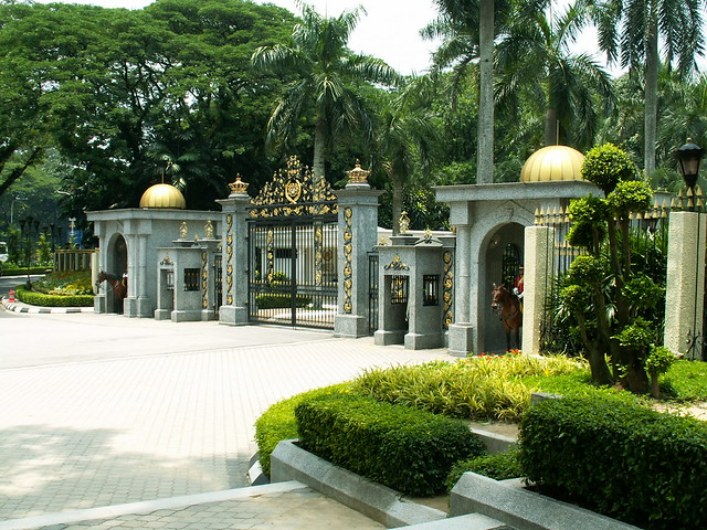 Old Istana Negara - Royal Palace - Königspalast Kuala Lumpur