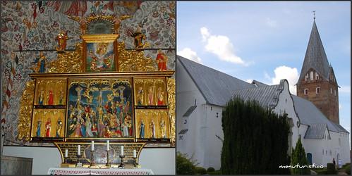 Collage di mogeltonder chiesa