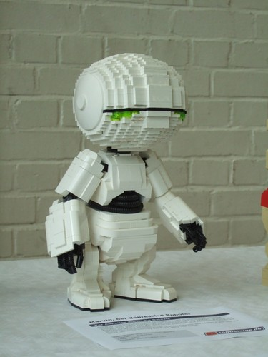 paranoid android Lego moc