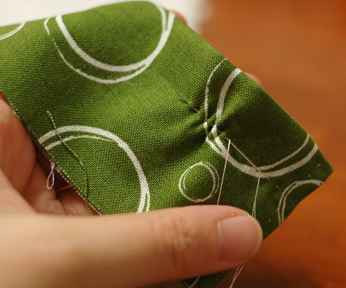How to make a petit pouch 13