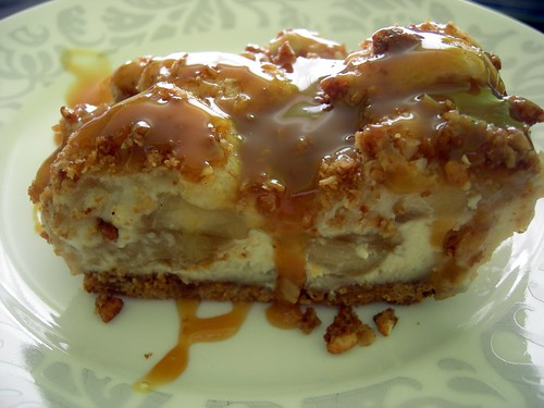 Caramel Apple Cream Cheese Bars | Baltimore Nesties Cookbook