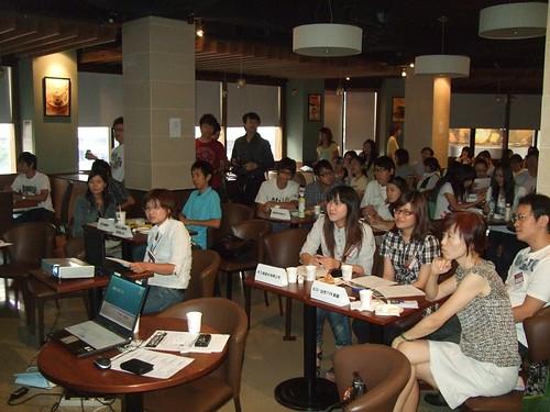 你拍攝的 20090819電子商務創意競賽網路行銷說明會_有fu行銷008.jpg。