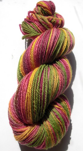 sw Merino, navajo plied ~ 392yds, fiber was gift from Marianne-2