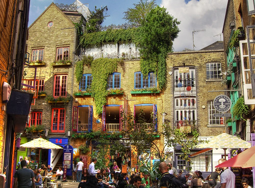 Neals Yard Picture by Flickr User Mikelo
