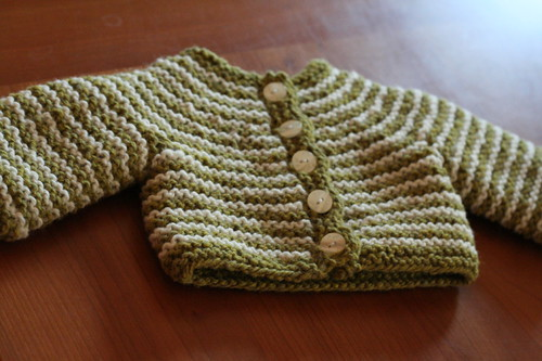 A cardigan for New Baby