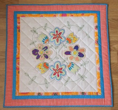 Good Ol' Summertime Mini Quilt