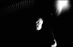 (Laurence Von Thomas) Tags: bw white black contrast concert brighton live gig egg grain 800 bestival subs accupan