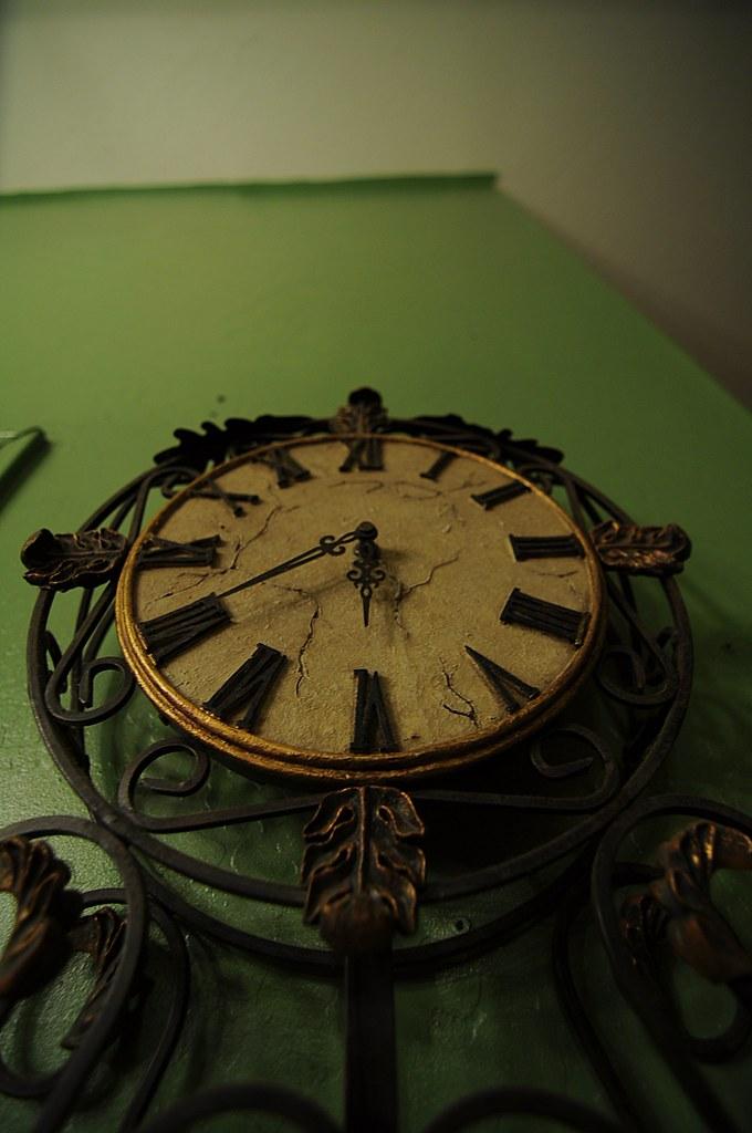Clock @ 11mm rotate tall