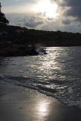 contraluz (ladywolke) Tags: sea contraluz spain meer ibiza eivissa spanien gegenlicht balearen portinatx mywinners september09