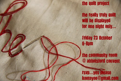 The Quilt Project ...LIVE FOR ONE NIGHT ONLY...