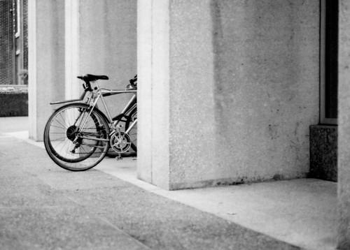 Bikes at a Bank