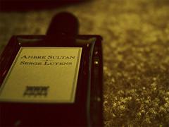 2/365 the sultan. (joshuaburson) Tags: perfume niche royal palais sultan serge ambre shiseido lutens basenotes