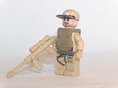sniper (kenneth nielsen a.k.a Qenhyt) Tags: mod paint lego military prototype sniper ba brickarms
