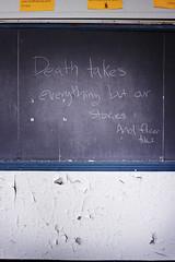 Death Takes..... (Jeffrey Stroup) Tags: school ohio building abandoned canon decay cleveland urbanexploration ue 50d urbanex