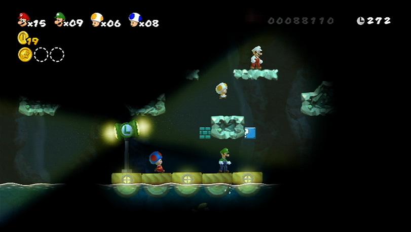 New Super Mario Bros Wii Preview A E Interactive