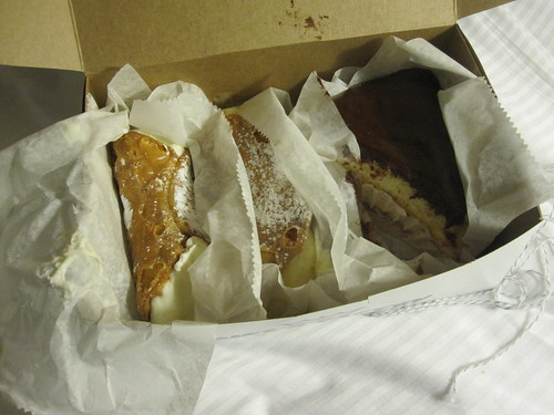 pastries from Mike's - $9 with tip