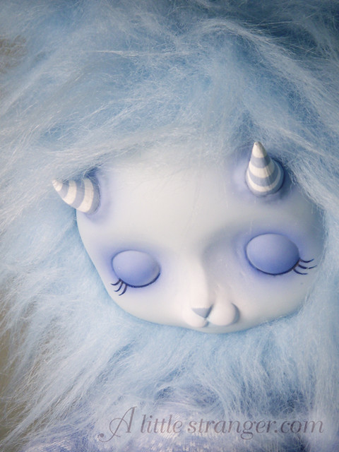 New blue sleepy monster