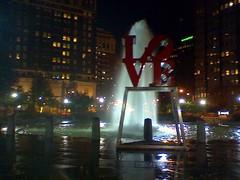JFK Plaza, Philadelphia (Dan_DC) Tags: park sculpture philadelphia fountain publicspace night downtown pennsylvania centercity waterscape jfkplaza lovefountain