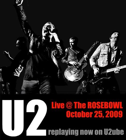 u2 rose bowl