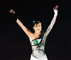 Shizuka Arakawa  ('06 Olympic champion of figure skating)
