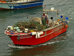 Catch of the Day (11:35:44) (MLK6615) Tags: portugal boat fishing lisbon cascais everyminuteoftheday ilustrarportugal