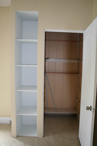 Back bedroom closet