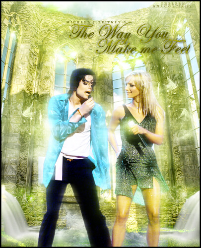 Michael Jackson & Britney Spears The Way You Make Me Feel by TheLean.