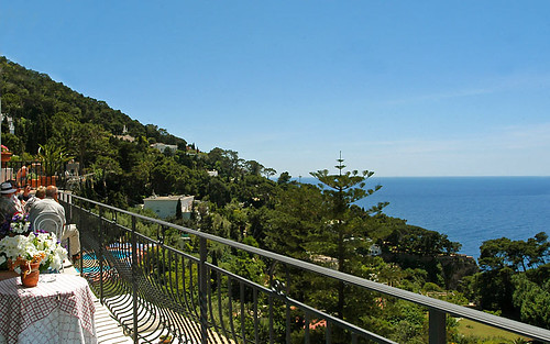 Hotel La Floridiana, Capri, Italy, Terrace