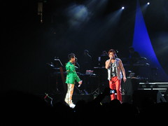 - ,  @ Oracle Arena in Oakland. (bageltam) Tags: oakland  cantopop  alantam   oraclearena hakkenlee