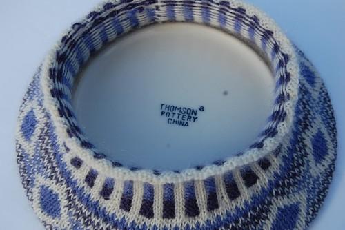 cinquefoil hat on a plate