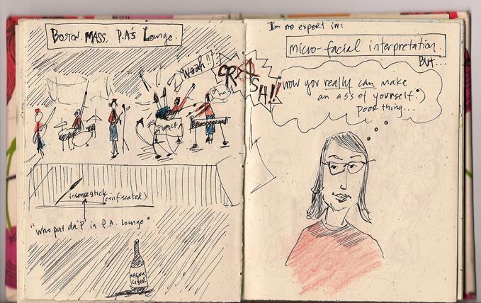 Tour Doodle: Boston, Mass - 2007
