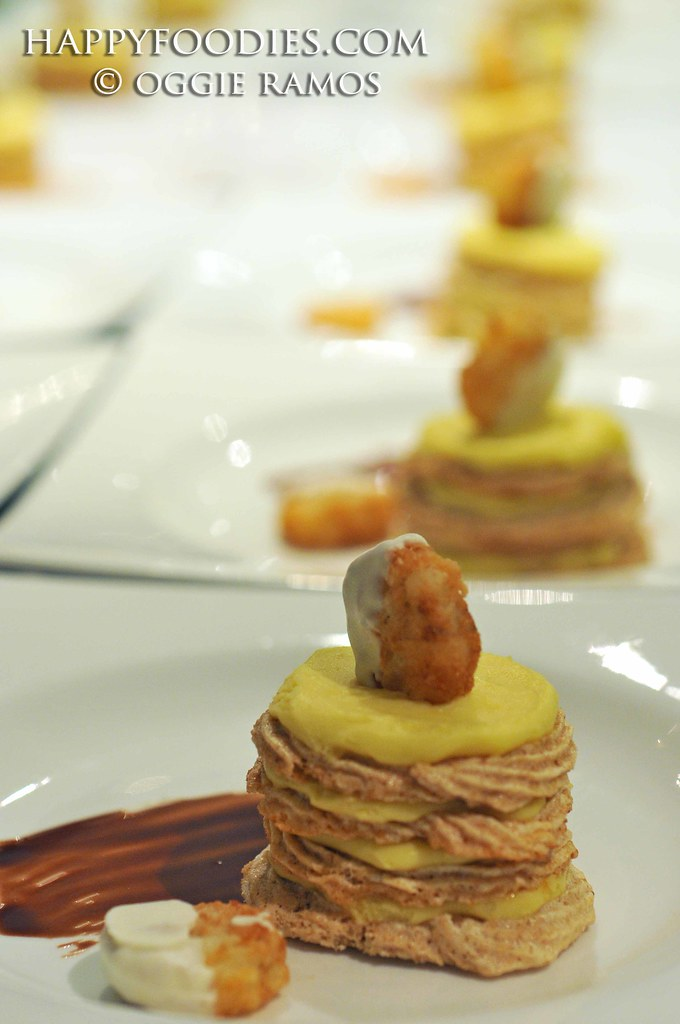 Potato Torte, White Chocolate