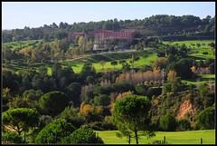Sant Esteve Sesrovires, Spain (D-A-O 1 Million Views! Thank you!) Tags: park colour golf hotel nikon view country course montserrat vista sant picnik esteve d90 barcel flickraward sesrovires