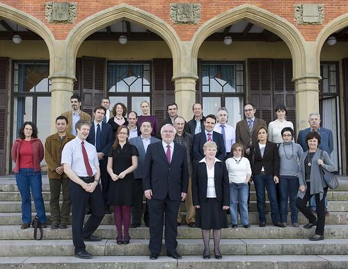 Participantes en el seminario sobre Irlanda del Norte