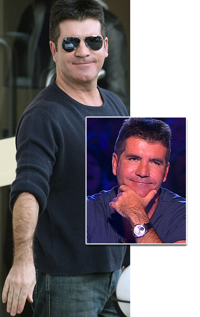 Hold the front page: Simon Cowell gets waxed