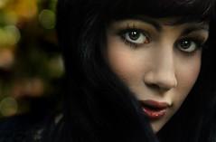 (digitalpsam) Tags: art beautiful eyes sweet bokeh adorable atmosphere dreamy serene gaze portrat lusciouslips ravenhair artofimages bestportraitsaoi elitegalleryaoi sammatta