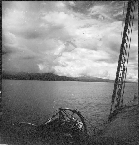 Ambon Bay photographed from the Cheng Ho