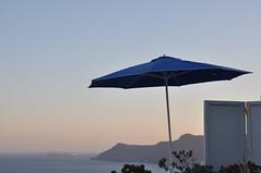 Santorini (trvbaker) Tags: blue sea mountain peace dusk tranquility screen santorini greece grecia zen meditation greekislands 2009 volcan